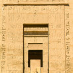 Medinet Habu Temple Egypt — Stock Photo #61271159