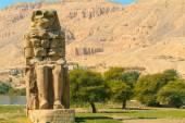 Colos of Memnon, Egypt — Stock Photo