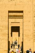 Medinet Habu Temple Egypt — Stock Photo