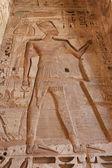 Medinet Habu Temple Egypt — Stock Photo