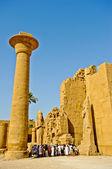 Egypt Temple of Karnak — Stock Photo