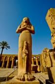Egypt Temple of Karnak-Ramses 2nd — Stock Photo
