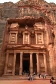 Petra monastery-Jordan — Stock Photo