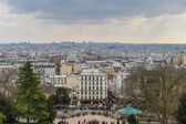 A view of Paris in France — Stock Photo
