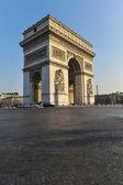 Triumphbogen in paris — Stockfoto