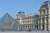 France, Paris, Tuileries Garden, Jardin des Tuileries, Louvre Ar — Stockfoto
