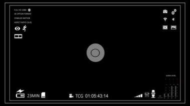 Visor de la cámara — Vídeo de Stock