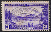 United States Postage Stamp — Stock Photo