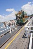 Granite Island Tram — Stock Photo