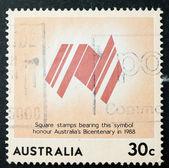 Australian Postage Stamp — Stock Photo