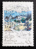 Australian Postage Stamp — Stock Photo