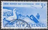 Francobollo di nuova Zelanda — Foto Stock