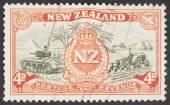 New Zealand Postage stamp — Stock Photo