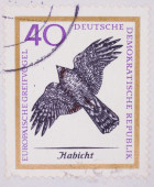 German Postage Stamp — Stock Photo