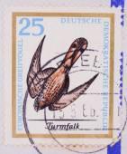 German Postage Stamp — Stock Photo
