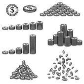 Vector illustration of financial success — Stock Vector