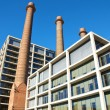 Office building of a former power station in Barcelona — Stock Photo #61321017