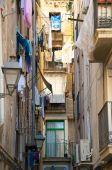 Balconies in Barcelona — Stock Photo