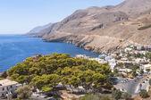 Il villaggio di Hora Sfakion — Foto Stock
