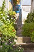 The village Hora Sfakion — Stock Photo