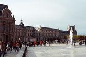 Famous Louvre Art Museum — Stock Photo