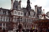 Hotel de Ville in Paris — Stock Photo