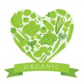 Organic Groceries — Stockvector