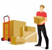 Moving — Stock Vector