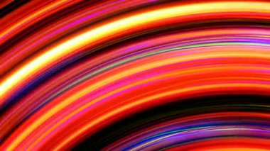 Abstract Rainbow Light Streaks Loop — Stock Video