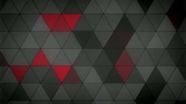Triangle Polygon Loop 08 Masculine — Stock Video