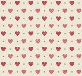Wedding retro seamless hearts pattern — 图库矢量图片
