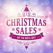 Christmas sales bussiness background — Wektor stockowy