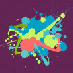 Splatter colorful vector set — Stock Vector #67352385
