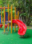 Children playground in the park — Stock Photo