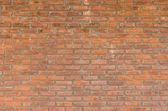 Texture de mur de briques rouges pour le fond — Photo
