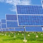 Power plant using renewable solar energy — Stock Photo #59332511