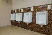 Banheiro público de wc. — Foto Stock