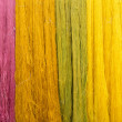 Colorful of Raw silk thread for background. — Stock Photo #63600957