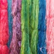 Colorful of Raw silk thread for background — Stock Photo #69415743