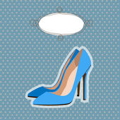 Shoes vector illustration — Stock Vector