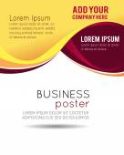 Professional business design  template — Stock Vector