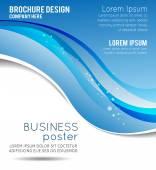 Concept design per brochure o volantino — Vettoriale Stock