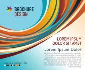 Brochure design content — Stock Vector