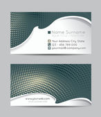 Abstract business cards — Stock Vector