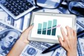 Business trends, development, economic growth — Stock Photo