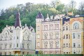 Luxury housing in the center of Kiev — Stock Photo