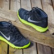 Постер, плакат: Stylish trendy sneakers Nike