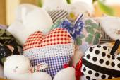 Pillow Hearts — Stock Photo
