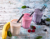 Milk shake — 图库照片