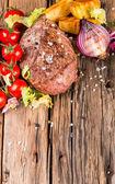 Beef steak — Stock Photo